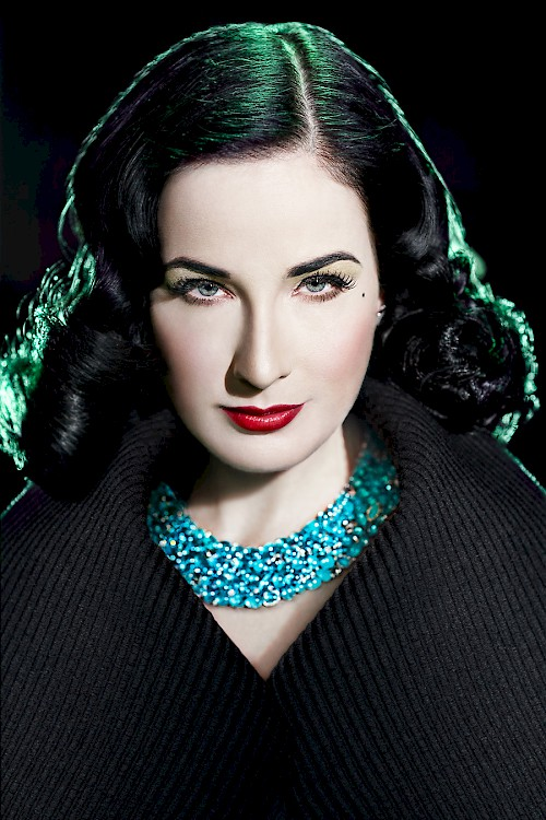 Dita Von Teese - Touch of Green