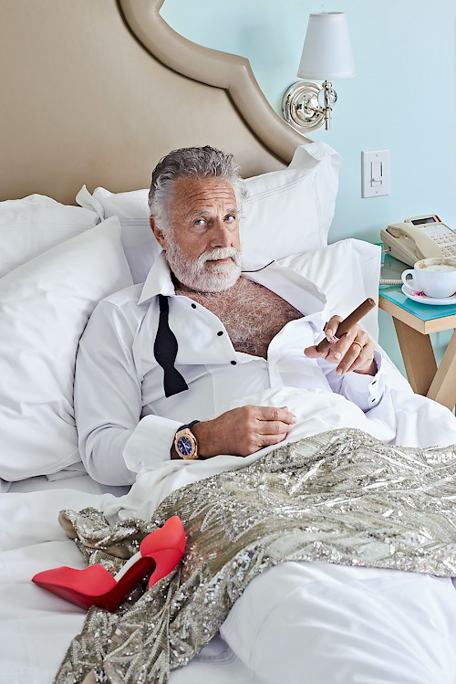 Most Interesting Man - Breakfast in Bed