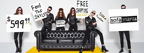 Sofa Mania - Black Couch