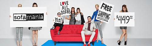 Sofa Mania - Red Couch
