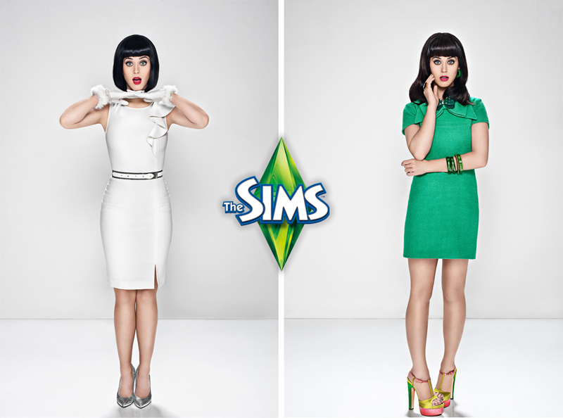 Katy Perry for EA SIMS